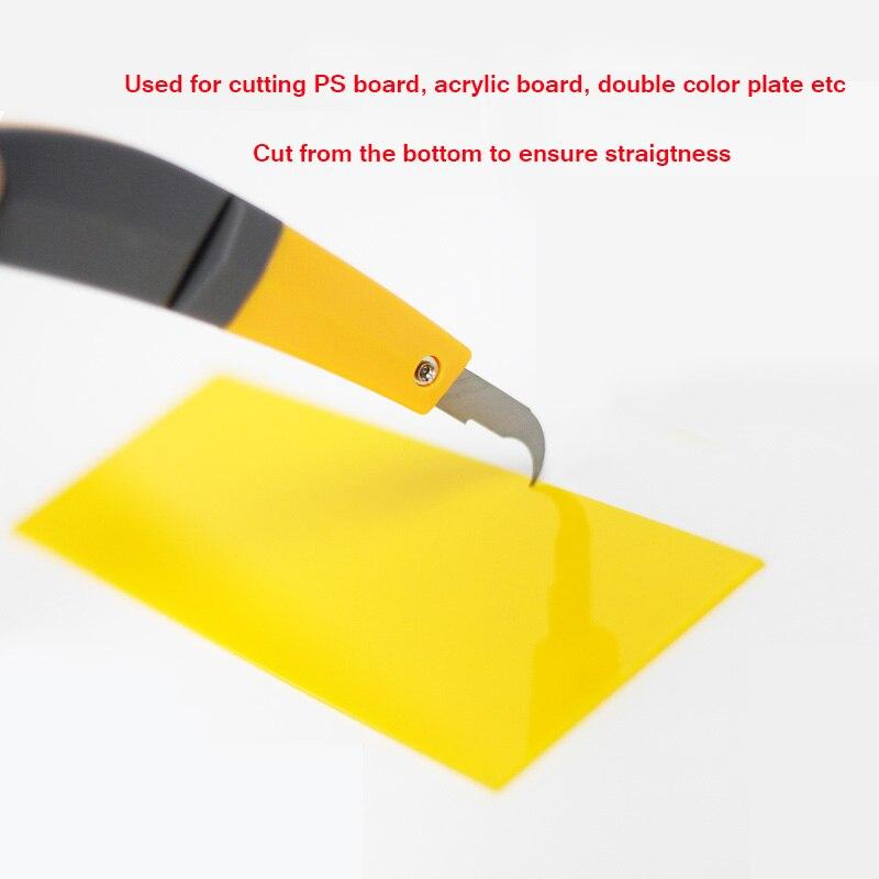 Piegatrice acrilica PVC Canale Lettera Piegatrice a caldo Forma ad - Macchine utensili e accessori - Fotografia 3
