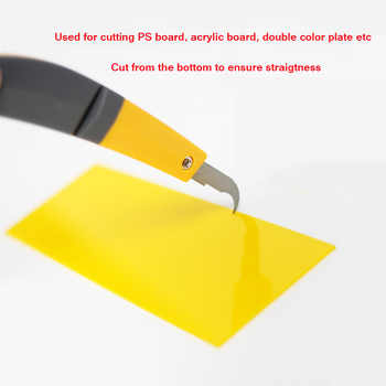 Acrylic Bender PVC Channel Letter Hot Bending Machine Arc/Angle Shape Bender Tool 1 pair+Hook knife+12cm Tube Bender(220V)