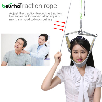 Neck Spine Massager Cervical Traction Device Kit Neck Back Stretcher Adjustment Chiropractic Back Head Massager relaxation