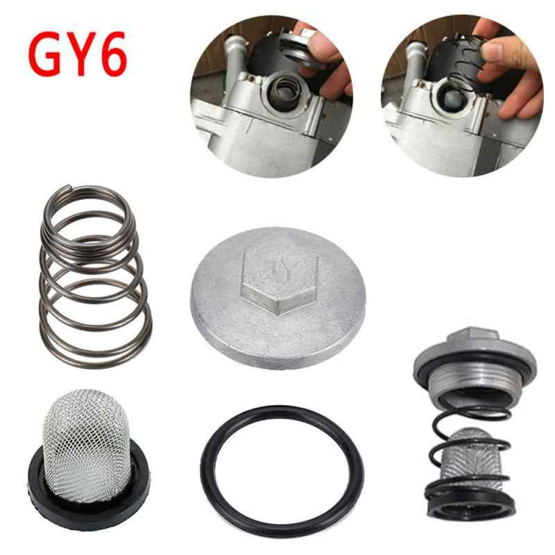 Forspero Motorcycle Scooter Oil Drain Plug Set Gy6 For Baotian Benzhou Znen Taotao 50-150Cc