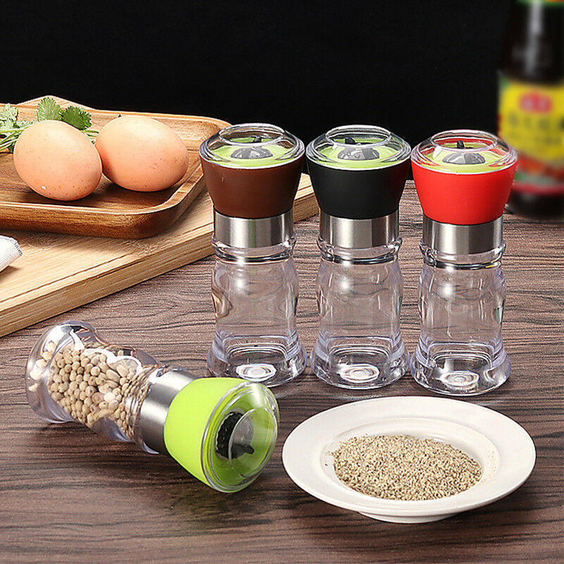 Seasoning Bottle Ceramic Mill Pepper And Salt Grinder Peper Spice Grain Mills Porcelain Grinding Core Mill Kitchen Tools