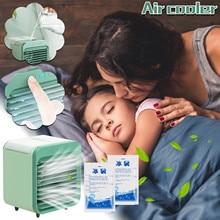 Fan Refrigeration Cooler Radiator Artifact Air-Conditioning Desktop Usb Mini Spray Office