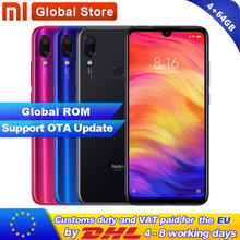 Xiaomi Redmi Note-7 4GB Quick Charge 4.0 Fingerprint Recognition 48mp New Telephone Global-Rom