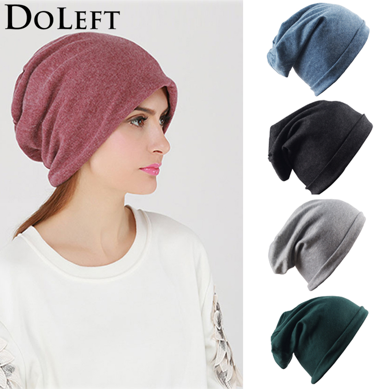 Women Solid Winter Cotton Beanies Hats For Mens Ladies Fashion Autumn Hip Hop Skullies Hat Casual Outdoors Fisherman Beanie Caps