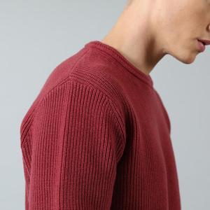 Image 4 - Мужской теплый свитер SIMWOOD, повседневный трикотажный пуловер с вырезом, брендовая одежда высокого качества, SI980567, Осень зима 2020