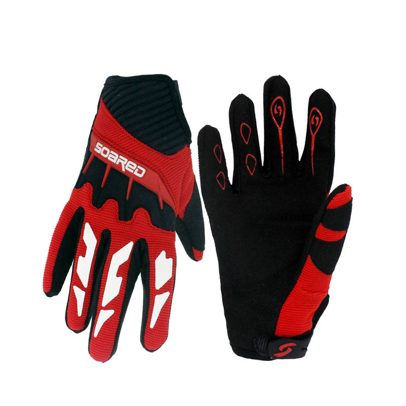 Children Skating Gloves Full Finger  3-12 Years Old Adjustable Quick-release Handwear Outdoor Sportswear Accessories
