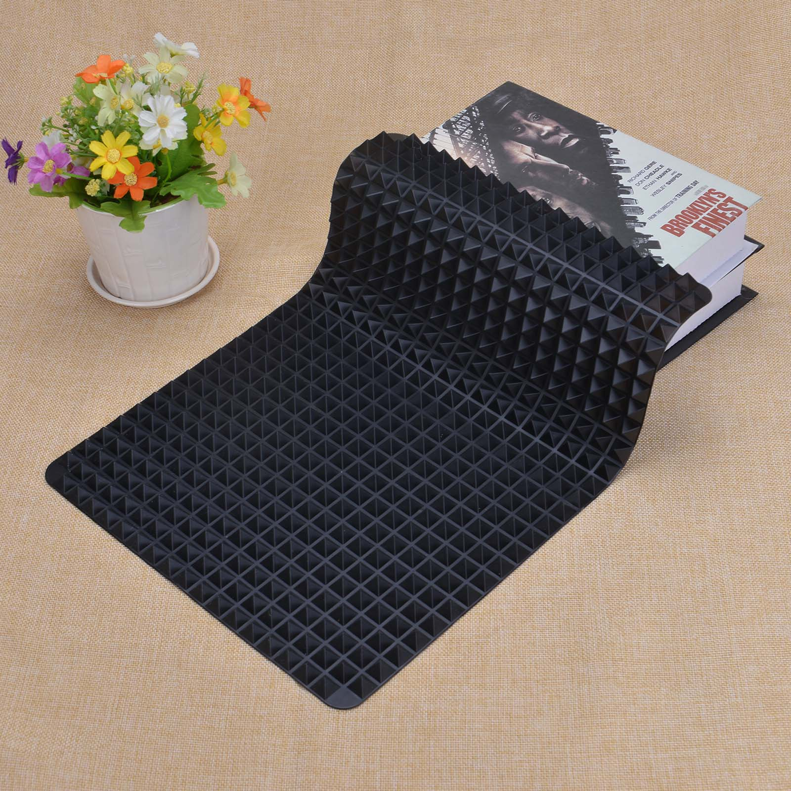 3 Colors Silicone Baking Mat In Non Toxic And High Temperature Resistance For Chocolate And Jelly Pudding 11