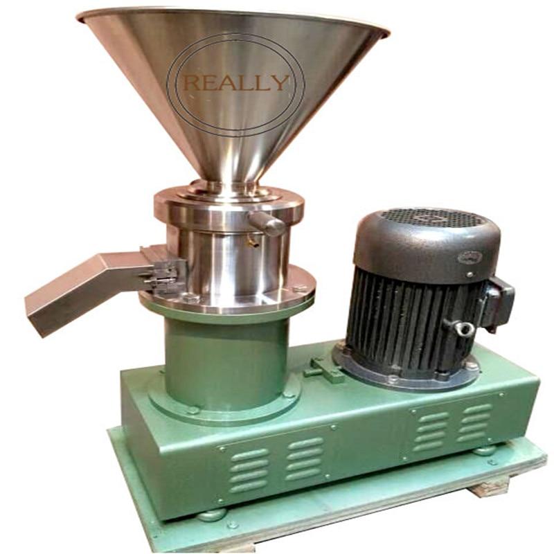 700-6000 kg/h nuevo tipo gran potencia molinillo superfino molinillo de alimentos coloidal para moler salsa de Chile mantequilla de maní