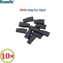 10ชิ้น/ล็อตID40 PCF7935 Auto Transponder ChipสำหรับVauxhall Opel Agila Astra Combo Coesa Omega Tigra Vectra Zafira