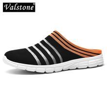 Valstone – Mules décontractées pour hommes et femmes, pantoufles légères et respirantes, sandales en maille à enfiler de qualité, chaussures d'extérieur antidérapantes pour Couple