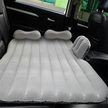 Car Air Inflatable Travel Mattress Bed Universal Travel Mattress Bed Back Seat Multi Functional Sofa Pillow Outdoor Camping Mat