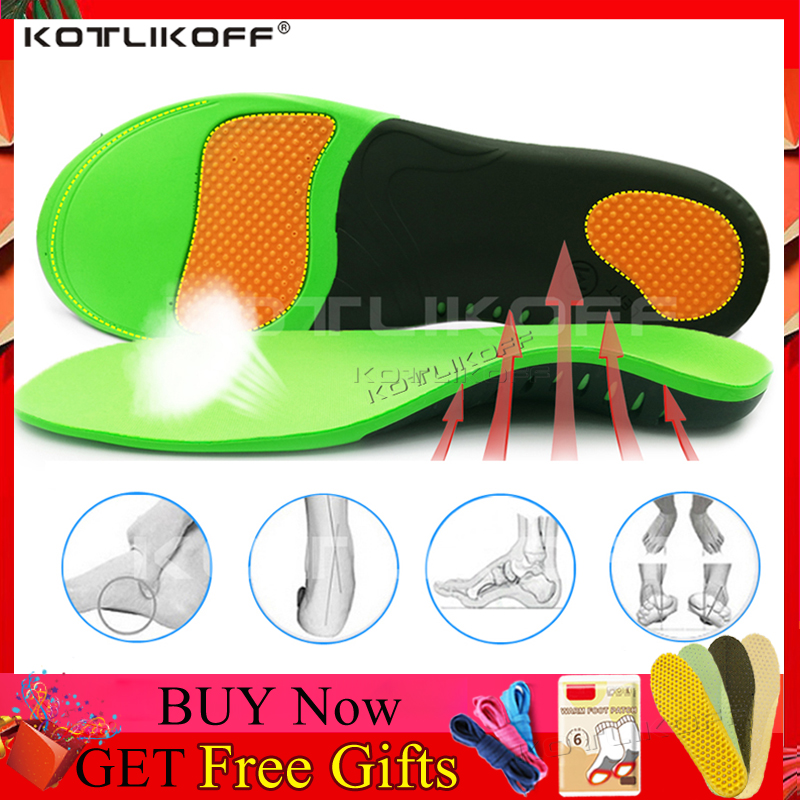 Best Orthopedic Shoes Sole Insoles For Shoes Arch Foot Pad X/O Type Leg Correction Flat Foot Arch Support Sports Shoes Inserts