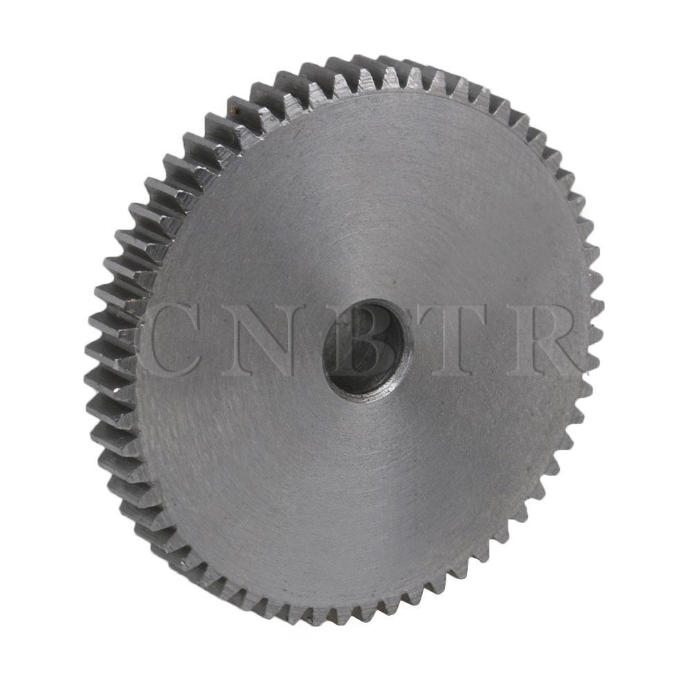 80T 45 Steel 0.5 Modulus Top Screws Gear Wheel 5mm Hole Dia 41x10x5MM