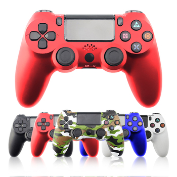 цена на 5 Colors Wireless Controller Bluetooth 4.0 Dualshock 4 Joystick Gamepads for PlayStation 4 PS4 Gamepad Fit For mando PS4 Console