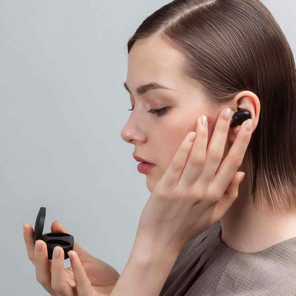 In Lager 2020 Neue Xiaomi Redmi AirDots S Links Rechts Niedrigen Lag Modus Mi Redmi AirDots 2 TWS Bluetooth Kopfhörer pro BT 5,0 TWSEJ0506LS