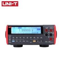 UNI-T UT805A Bench Type Digital Multimeter 199999 Counts True RMS Auto Range Meters Volt Amp Ohm Capacitance Tester uni t ut803 ut 803 bench top digital multimeter volt amp ohm capacitance temp tester