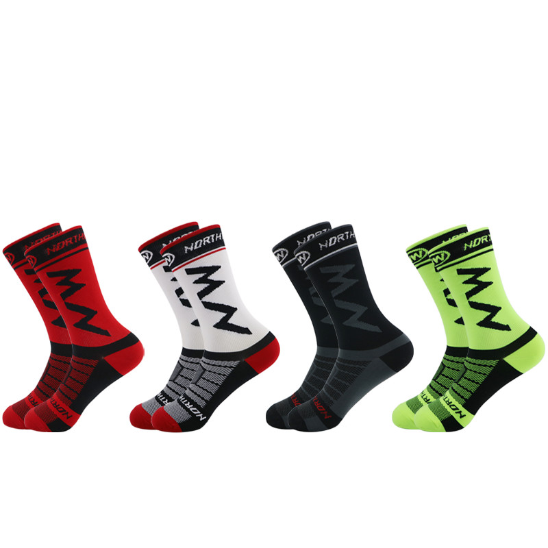 2020 New Men Women Coolmax Cycling Socks Breathable Basketball Running Football Socks