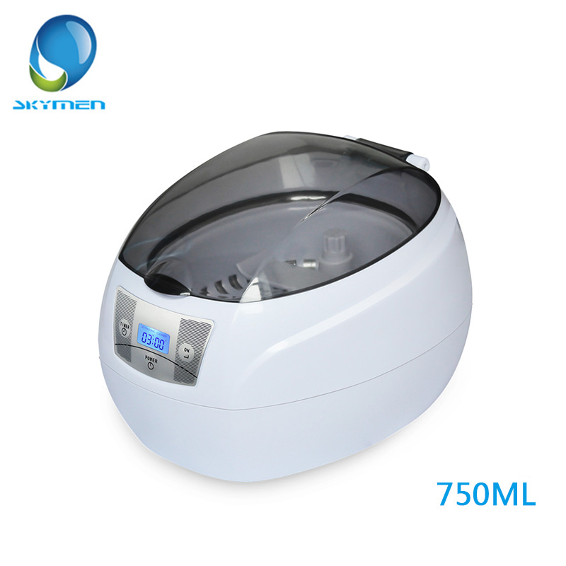 SKYMEN Ultrasonic Cleaner 35W Ultrasonic Bath 0.75L For Manicure Nail Tools