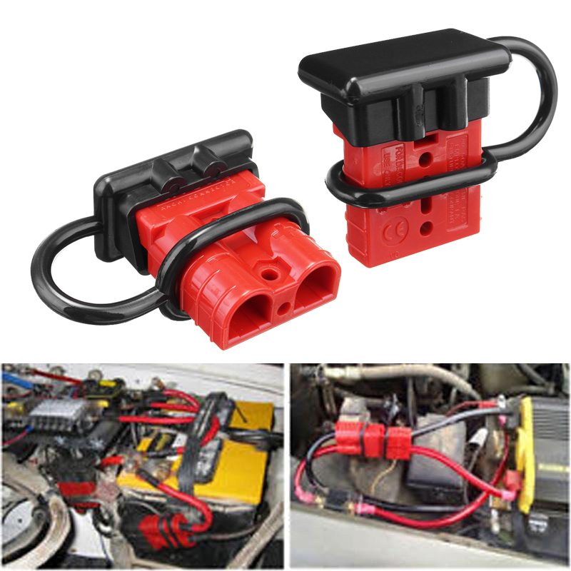 Forklift Battery Power Products AMP 120A Connector dust cover boot cap red