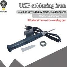 5V 8W USB Powered Electric Soldering Iron Solder Pen Welding Gun Hand Tools Kit Fast