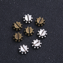 Pendant Jewelry Steampunk-Gear Trendy 12pcs 11mm Two-Color Cameo Zinc-Alloy
