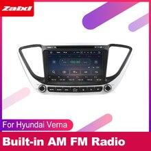 For Hyundai Verna 2016 2017 2018 2019 Car Android Multimedia System 2 DIN Auto DVD Player GPS Navi Navigation Radio Audio WiFi hactivol 2 din car radio face plate frame for hyundai verna 2017 car dvd player gps navigation panel dash mount kit car products