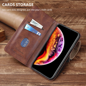 Image 4 - Flip Cover On Redmi S2 Wallet Book Leather Case For Xiaomi Redmi S2 Y2 Capa Magnet Card Slots Book Cover For Redmi S2 Phone Bag