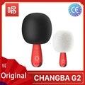 Новый G2 G1 Q3 Big Egg Changba Арена микрофон беспроводной Bluetooth караоке микрофон петь YouTube динамик оборудование для подкастов