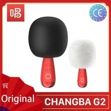 Novo g2 g1 q3 grande ovo changba arena microfone sem fio bluetooth karaoke micro-telefone cantar youtube alto-falante podcast equipamentos