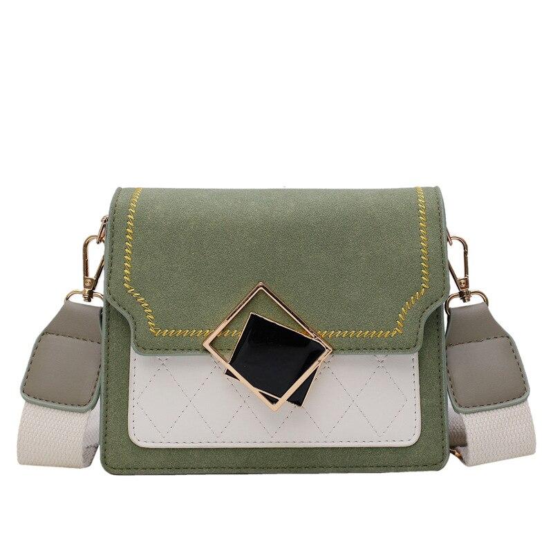 Textured Mini Small Bag Summer CHIC Dull Polish Broadband WOMEN'S Bag New Style 2019 Korean-style Versatile Shoulder Square Slin