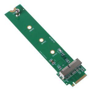 Адаптер PCI-e для MacBook Air Pro, 12 + 16 штырьков SSD в M.2 Key M (NGFF), карта конвертера для ПК, компьютерные аксессуары