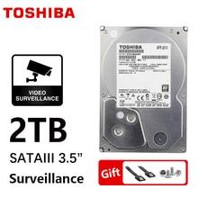 TOSHIBA DVR NVR CCTV 2TB 2000G sabit disk 2000GB HDD HD dahili SATA 3 5700RPM 32M 3.5