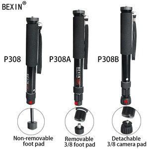 Image 3 - Портативный легкий гибкий карманный мини монопод BEXIN для цифровой зеркальной камеры монопод для камеры gopro SLR Micro