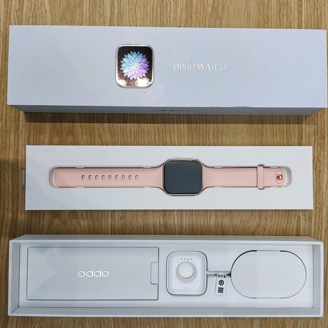5ATM 46mm 1.91 inch AMOLED 2020 Original OPPO Smart Watch 1GB 8GB Snapdragon 2500 Bluetooth WiFi Sport Health Heart Rate Sleep