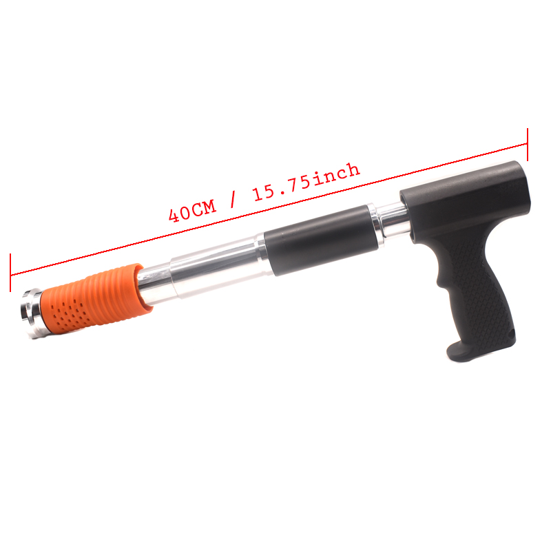 Tools : Manual Steel Nails Gun Concrete Steel Nails Gun Wire Slotting Device Decoration Tools