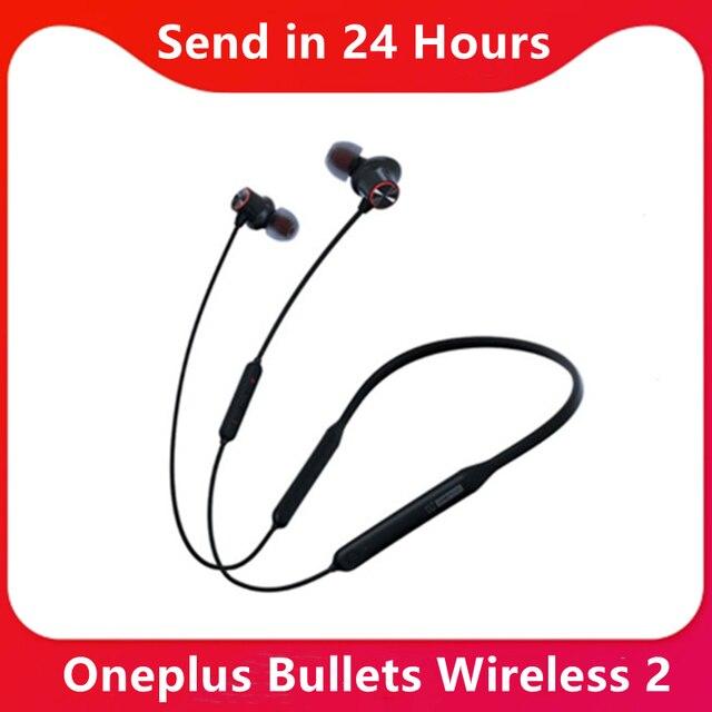 מקורי OnePlus כדורים אלחוטי 2 אוזניות Apt היברידי מגנטי בקרת תשלום מהיר Oneplus כדורים אלחוטי 2