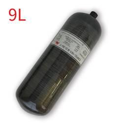 Ac3090 airsoft pcp tanque 9l condor cilindro para ar comprimido m18 * 1.5 4500 psi tanque de mergulho para scuba softgun pressão carabina