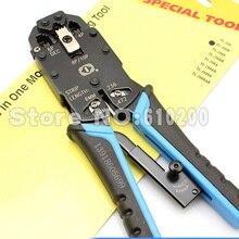 RJ48 RJ45 RJ11 RJ12 4 в 1 Многофункциональный инструмент провода кабель щипцы обжимной трещотка Ethernet обжимной инструмент ПК сети ручные инструменты