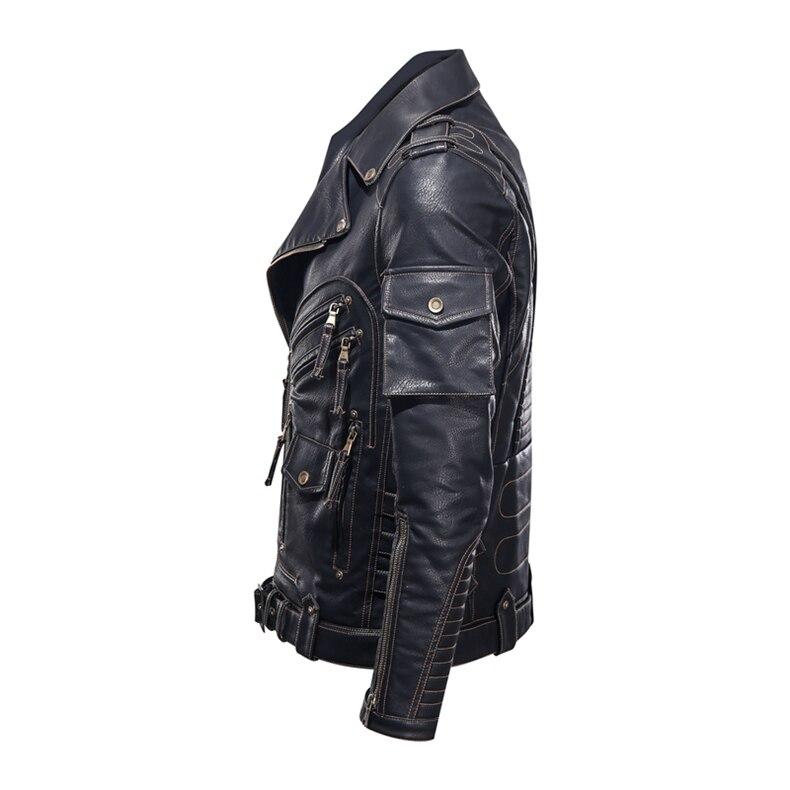 mens pu leather jacket04