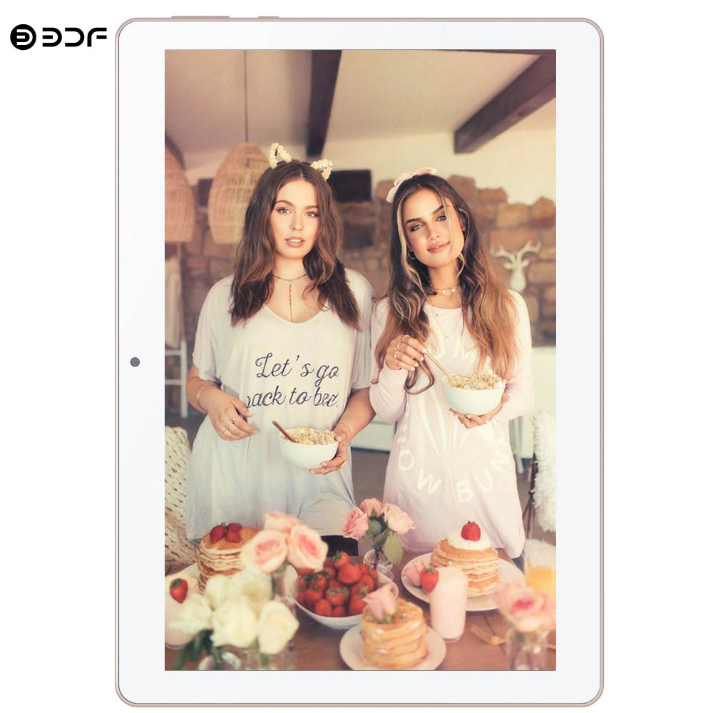 BDF 2020 New 10 Inch Android 6.0 Tablet Quad Core 2GB RAM 32GB ROM Tablets 1280*800 IPS LCD Dual SIM Card 3G Phone Tablet Pc