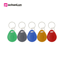 CHENGKA 5PCS EM4305 T5577 tag Copy Rewritable Writable Rewrite keyfobs RFID Key Ring Card  Proximity Token Badge Duplicate rfid t5577 125khz rewritable proximity key tags fobs keytags writable