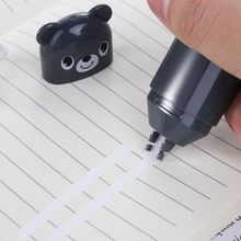 2Pcs Cute Bear Design Correction Tape Student Stationery School Supplies Office Accessories Random Color random color correction tape 1pc