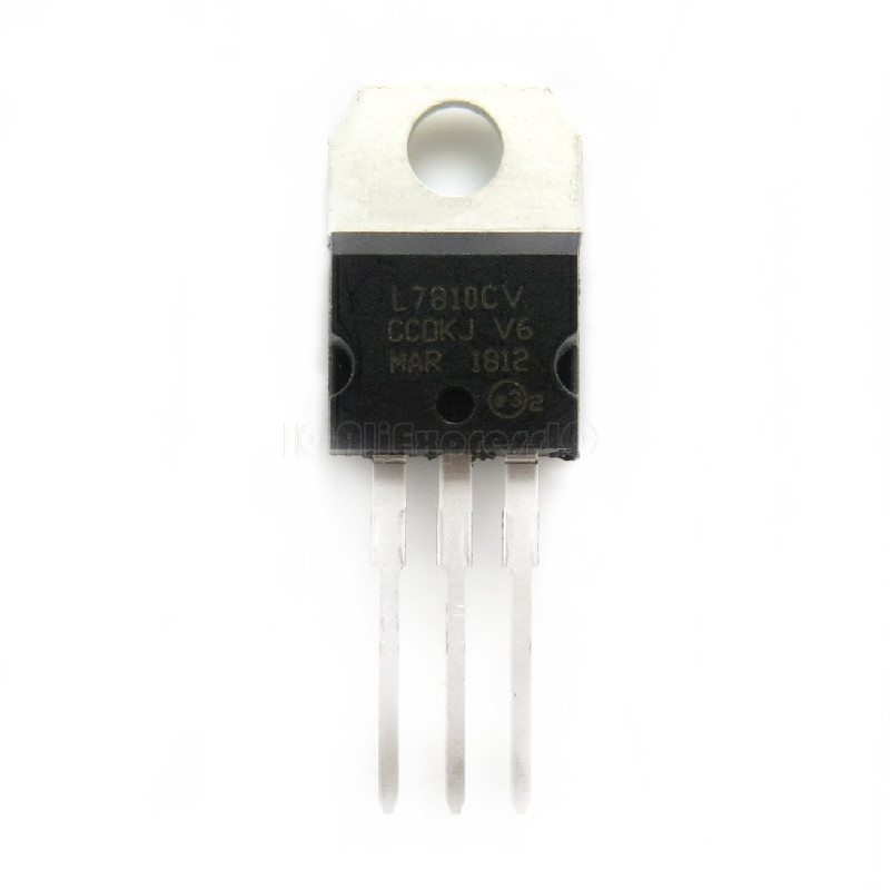 10pcs/lot L7810CV TO220 L7810 TO-220 7810 LM7810 MC7810 In Stock