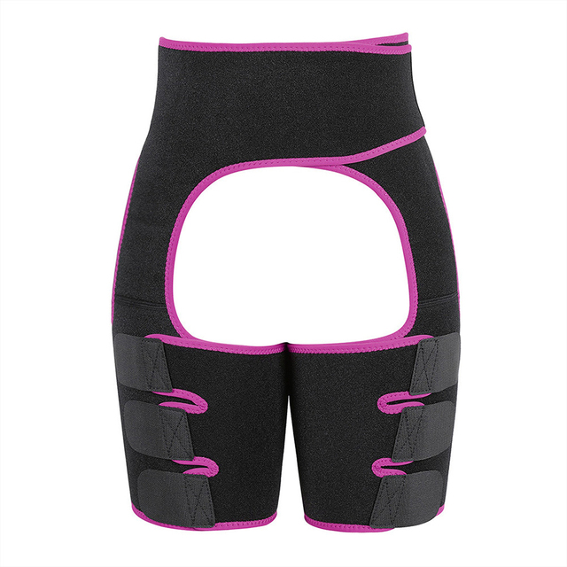 Neoprene Slim Thigh Trimmer Sweat Waist Trainer Leg Shapers Slender Slimming Belt Muscles Band Thigh Slimmer Wrap 4