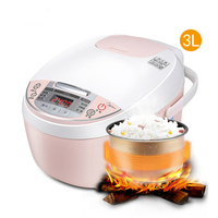 Midea Rice Cooker Electric Food Warmer Portable Rice Cooker Home Appliances for Kitchen Smart Hot Pot Soup Mini Rice Cooker 3L