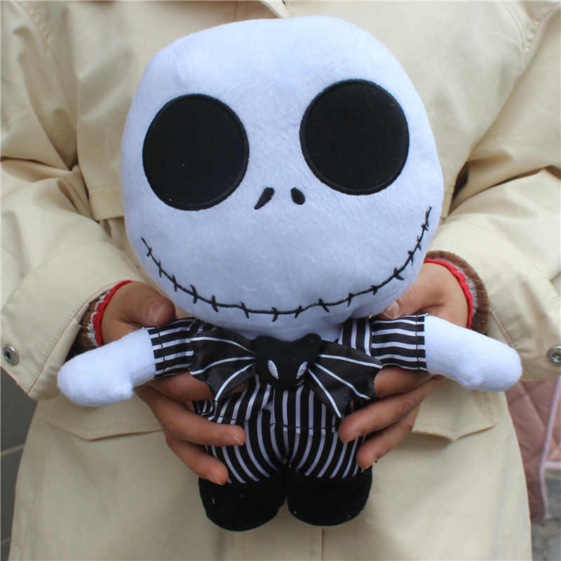 Children Gift Nightmare Before Christmas Jack Skellington Plush Toy Stuffed Doll