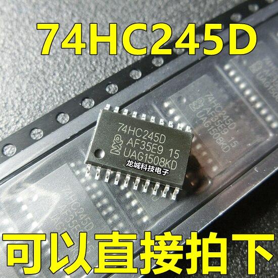74HC245 74HC245D  SOP-20 7.2MM