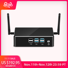 HLY Mini PC DDR4 RAM Intel Core i7 8550U i5 8250U i3 8130U Windows 10 4K UHD HTPC Wifi USB Mini Computer Desktop Gaming PC