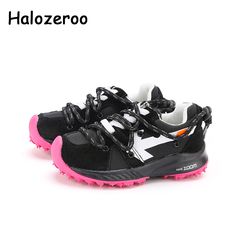 Spring Kids Sport Sneakers Boys Brand Soft Running Shoes Baby Girls Casual Sneakers Children Mesh Slip On Sneakers Trainers 2020