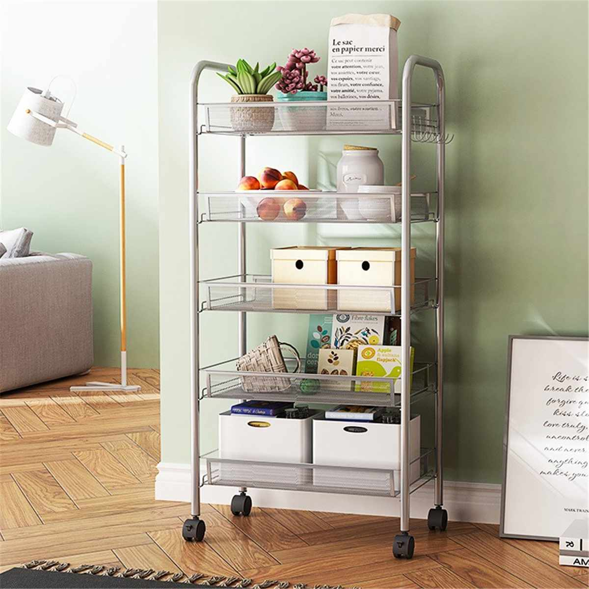 Wire Rack Organizer Kitchen